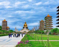 71008276 - buddha memorial center architecture in fo guang mountain taiwan